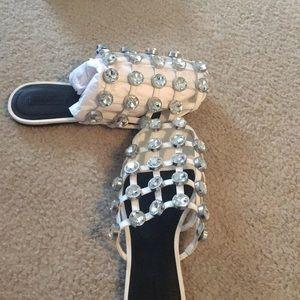 Alexander Wang Jeweled Amelia Size 39.5